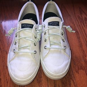 Sperry sneakers white size 8